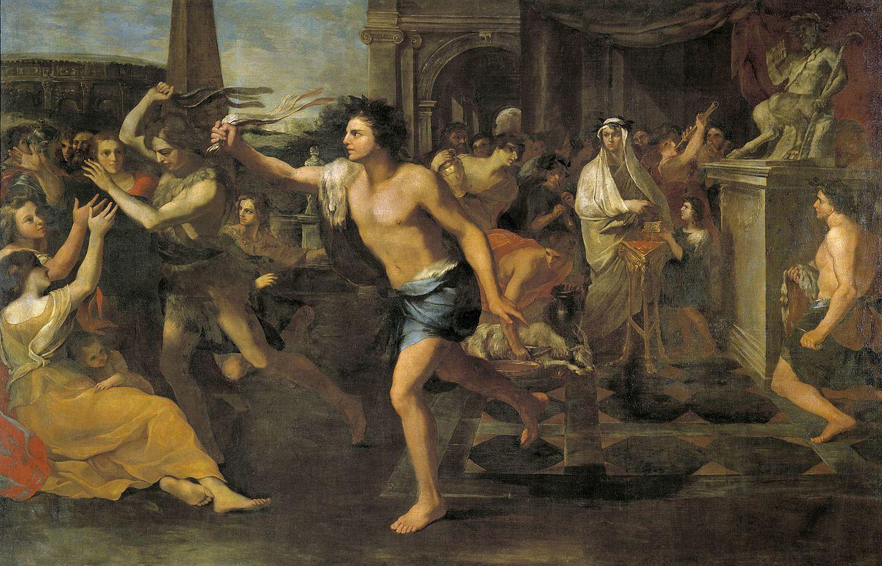 Peinture représentant les Lupercales exposée au Musée du Prado à Madrid