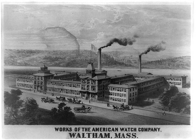 Histoire de l'horlogerie partie IX : la révolution industrielle en horlogerie