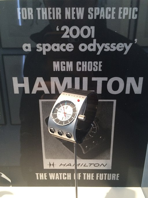 L'iconique montre Hamilton de l'Odyssée de l'espace