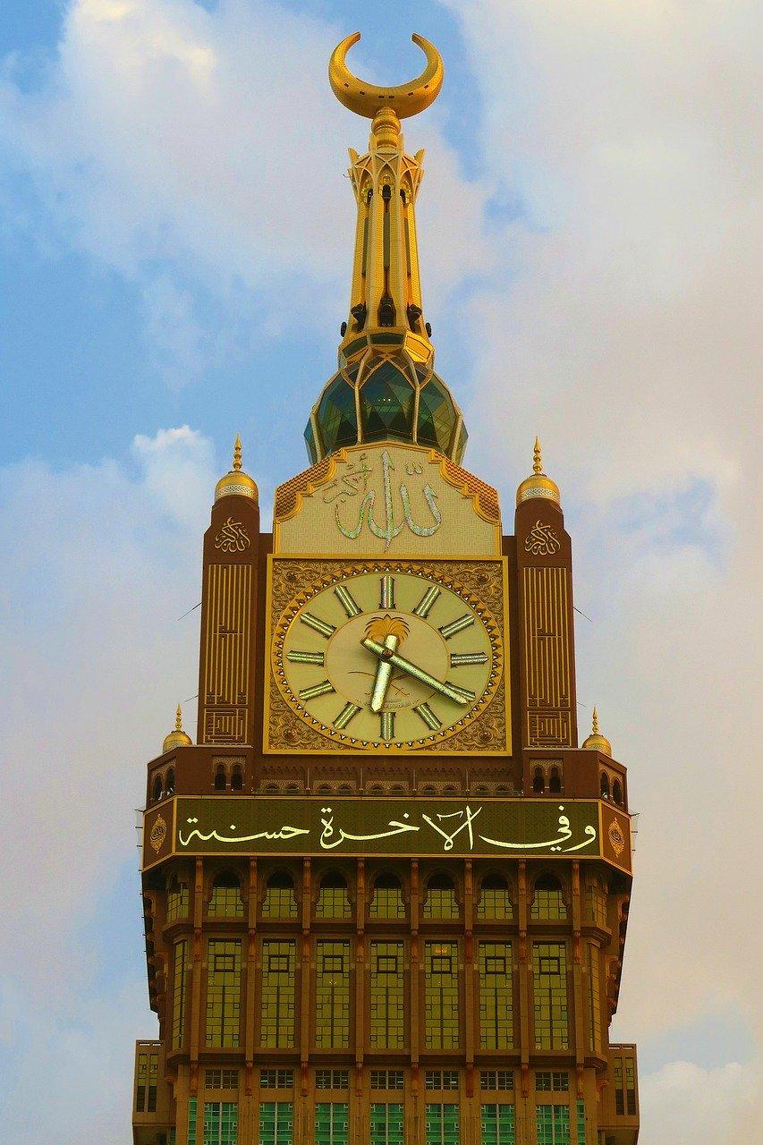 L'horloge de la Mecque, la plus grande au monde