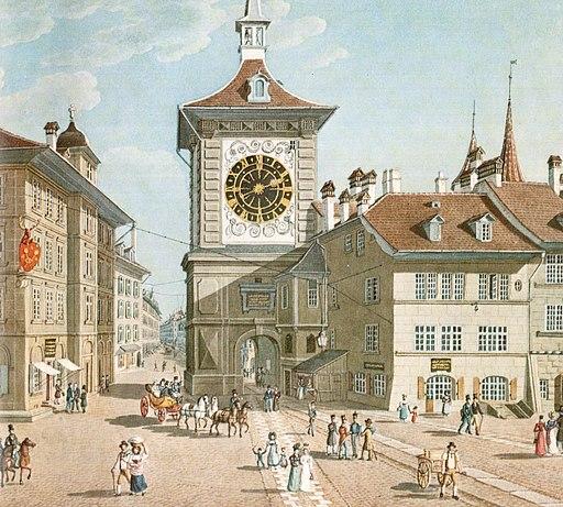 La tour médiévale de la Zytglogge: un monument central à Berne