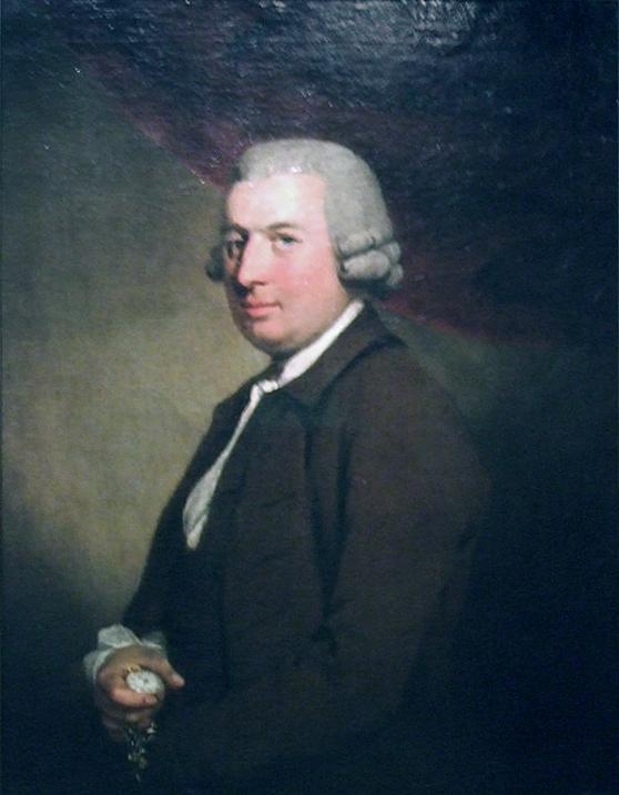 Une peinture dépeignant John Arnold, datée de 1767