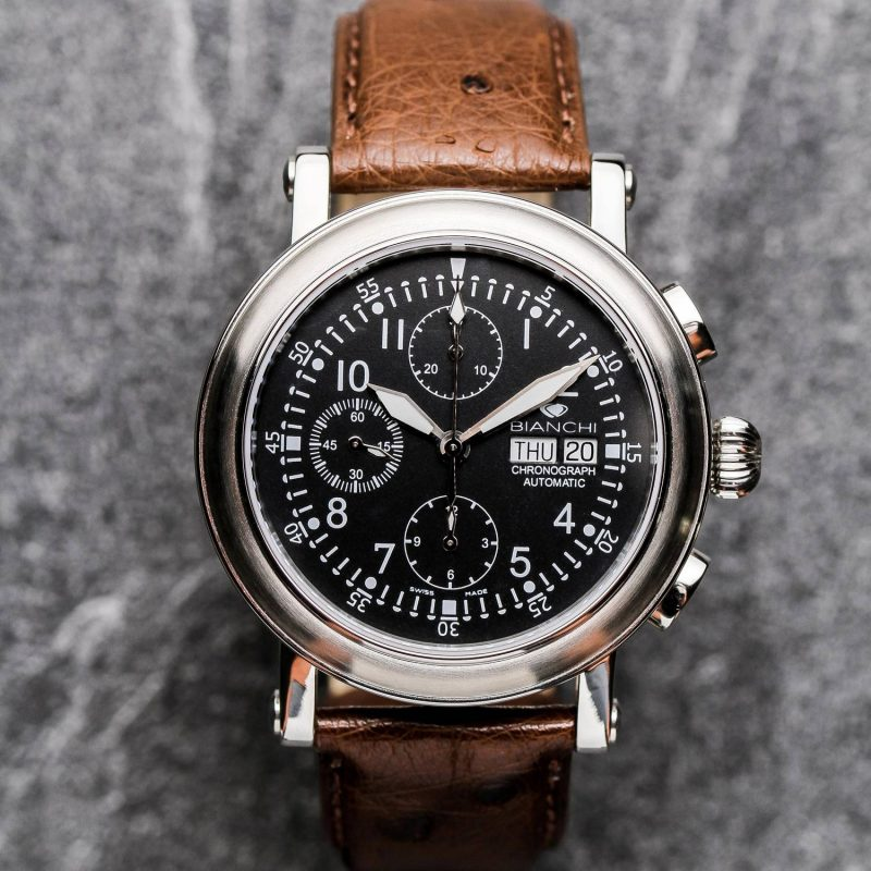 Montre Homme chronographe 7750 Vallejoux collection héritage