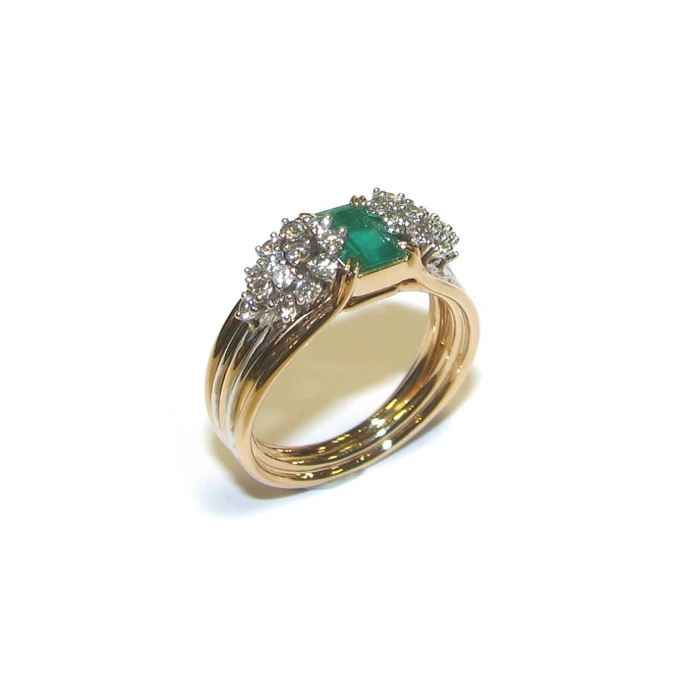 L'émeraude est une magnifique pierre dans des teintes de vert