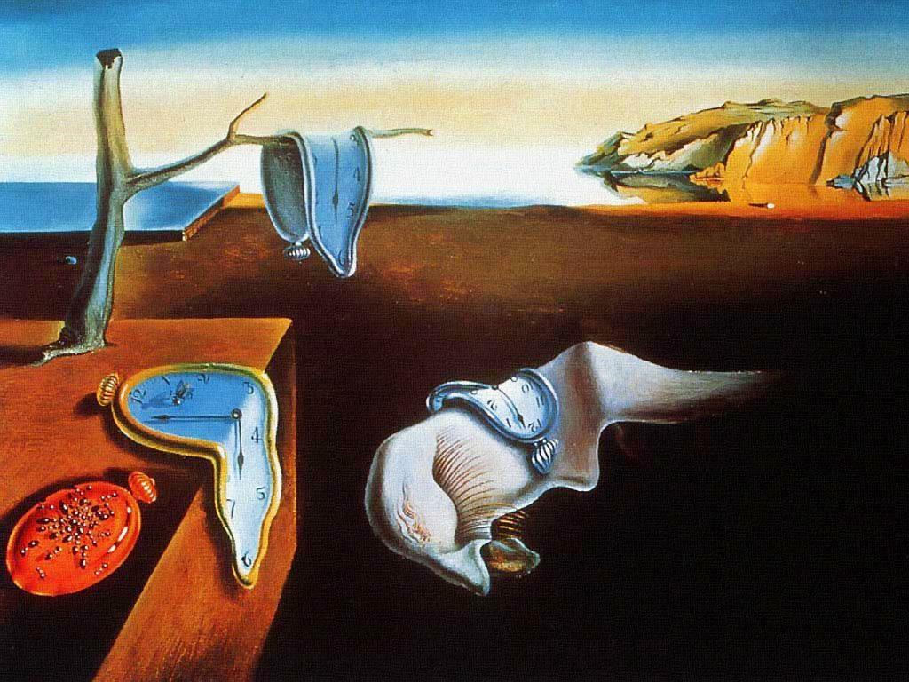 La persistance de la mémoire (1931), de Salvador Dali dépeint des montres molles
