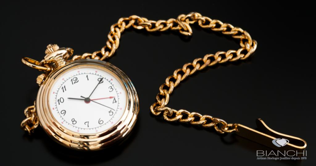 chaîne montre à gousset