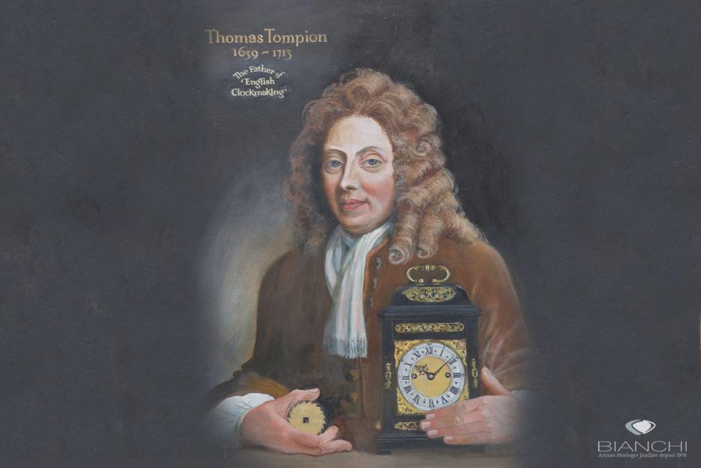 Thomas Tompion, le père de l'horlogerie anglaise